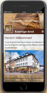 Königs Brotkorb - Smartphone